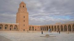 Great Mosque Of Kairouan Tunisia hd wallpapers