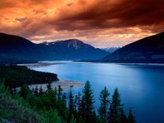 Upper Arrow Lake British Columbia Canada wallpapers