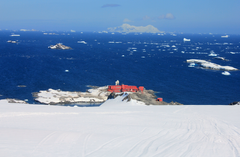 Chilean Base General Bernardo O Higgins Riquelme on the Antarctic