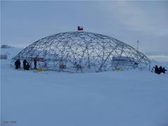 Un hangar desplegable sustituirá al gimnasio antártico de Villa Las