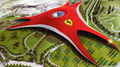 Abu Dhabi Yas Ferrari World HD desktop wallpapers High Definition