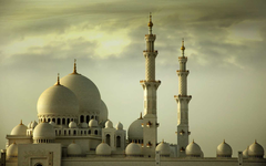 Sheikh Zayed Grand Mosque HD Wallpapers For Desktop