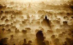 Sunrise in Bagan Myanmar wallpapers