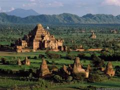 Desktop Wallpapers Natural Backgrounds Countryside Pagoda