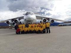 Partió desde Ushuaia la dotación para la Base Belgrano II
