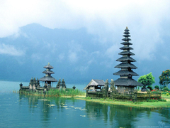 Temple of water in Bali wallpapers and image