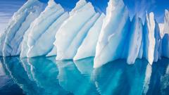 Iceberg in Paradise Harbor Antarctic Peninsula Antarctica