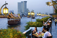 Relax on the waterfront in Bangkok Thailand wallpapers and image