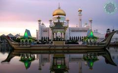 Omar Ali Saifuddin Mosque Brunei Wallpapers Details