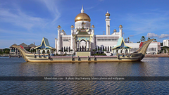 Album Islam Sultan Omar Ali Saifuddin Mosque