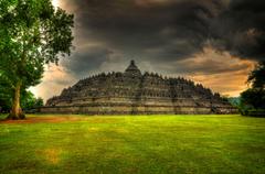Indonesia Temple Borobudur Photo