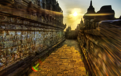 The Buddhist Temple Of Borobudur Indonesia Android wallpapers for