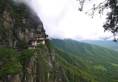 bhutan rock homes