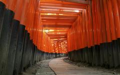 Japan architecture torii Japanese architecture Fushimi Inari Shrine