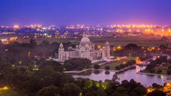 Wallpapers Lights India West Bengal Calcutta Victoria Memorial