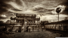Temple In Cambodia HD desktop wallpapers High Definition