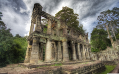Ancient Library Cambodia HD desktop wallpapers High Definition