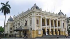 Opera House Hanoi Vietnam Mystery Wallpapers