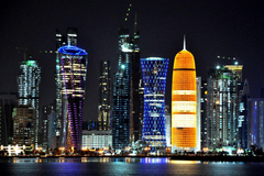 Doha Qatar Skyline HD Wallpapers