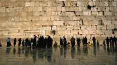 Wall people buildings israel ancient temple jewish cities