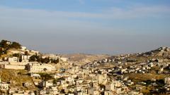 Overhead View 4K Jerusalem Israel Wallpapers