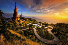 Afternoon Light Chiang Mai Province Thailand Wallpapers and