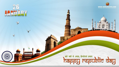 Beautiful Happy Republic Day Wishes and Wallpapers