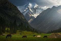 Peak Yeltsin in Kyrgyzstan