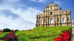 Ruins Of Saint Pauls Cathedral Macau Wallpapers