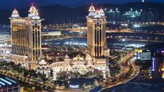 Luxury Resort Galaxy Macau Hotel Casino China Desktop Wallpapers