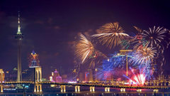 Macao International Fireworks Contest HD Wallpapers