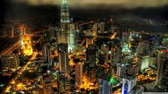 Kuala Lumpur Petronnas Towers 4K HD Desktop Wallpapers for