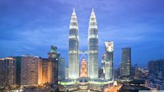 Petronas Towers Kuala Lumpur Malaysia 4K HD Desktop Wallpapers