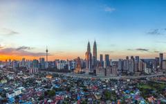 cityscape Building Sunset Malaysia Petronas Towers Kuala