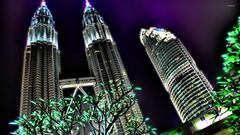 Petronas Towers in Kuala Lumpur wallpapers
