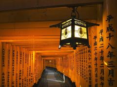 The Image of Japan Lanterns Shrine Kyoto Inari Fresh HD Wallpapers