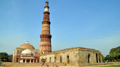 HD Wallpapers Of The Qutub Minar Monument In New Delhi