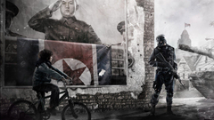 soldiers video games bicycles tanks North Korea Homefront