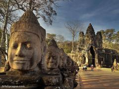 Photos Bayon Angkor Thom Siem Reap Cambodia