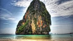 cliff in phuket thailand