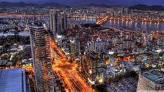 Seoul At Night South Korea HD desktop wallpapers High Definition