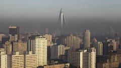 SimplyWallpapers North Korea Pyongyang architecture buildings