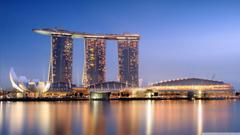 Marina Bay Sands Singapore HD desktop wallpapers High Definition