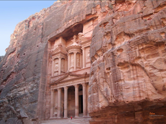 Petra Jordan Cities Famous buildings