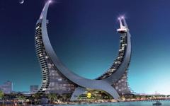 SimplyWallpapers Katara Lusail Marina Tower Qatar buildings