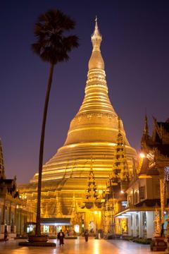 Incredible Night View Image And Photos Of Shwedagon Pagoda Myanmar
