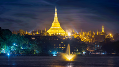 Shwedagon Pagoda Yangon Myanmar 9 TO 5 LESS