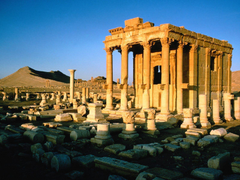 Palmyra Ruins Syria wallpapers