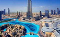 United Arab Emirates Skyscrapers Dubai Megapolis HD desktop