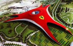 Ferrari World Abu Dhabi United Arab Emirates widescreen wallpapers